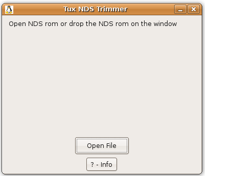 Thumbnail 1 for Tux NDS Trimmer (NDS Trimmer for linux)